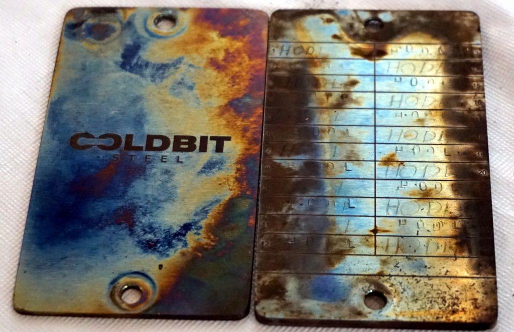 Coldbit Steel extreme stress test.