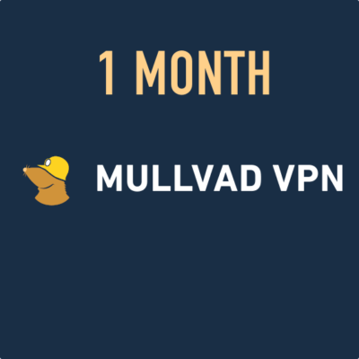Mullvad VPN - 1 month voucher